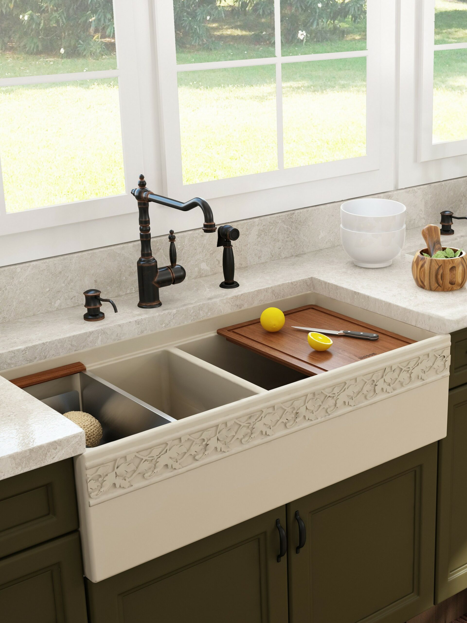 74 Things A Farmhouse Kitchen Sink Can Do For You Home Decor 37
