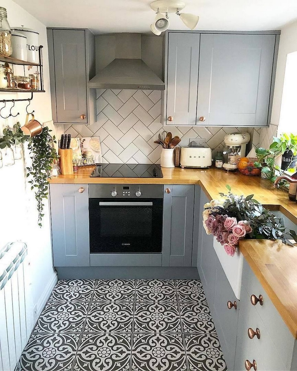 86 Some Small Kitchen Ideas To Help You Do Up Your Kitchen 16