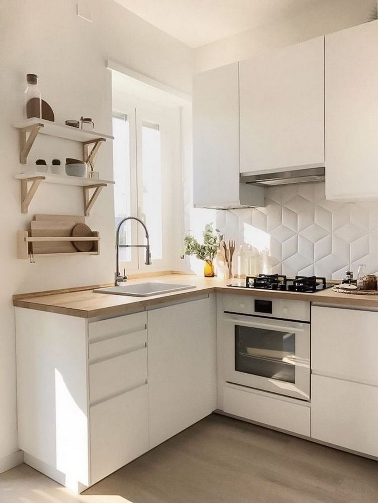 86 Some Small Kitchen Ideas To Help You Do Up Your Kitchen 20