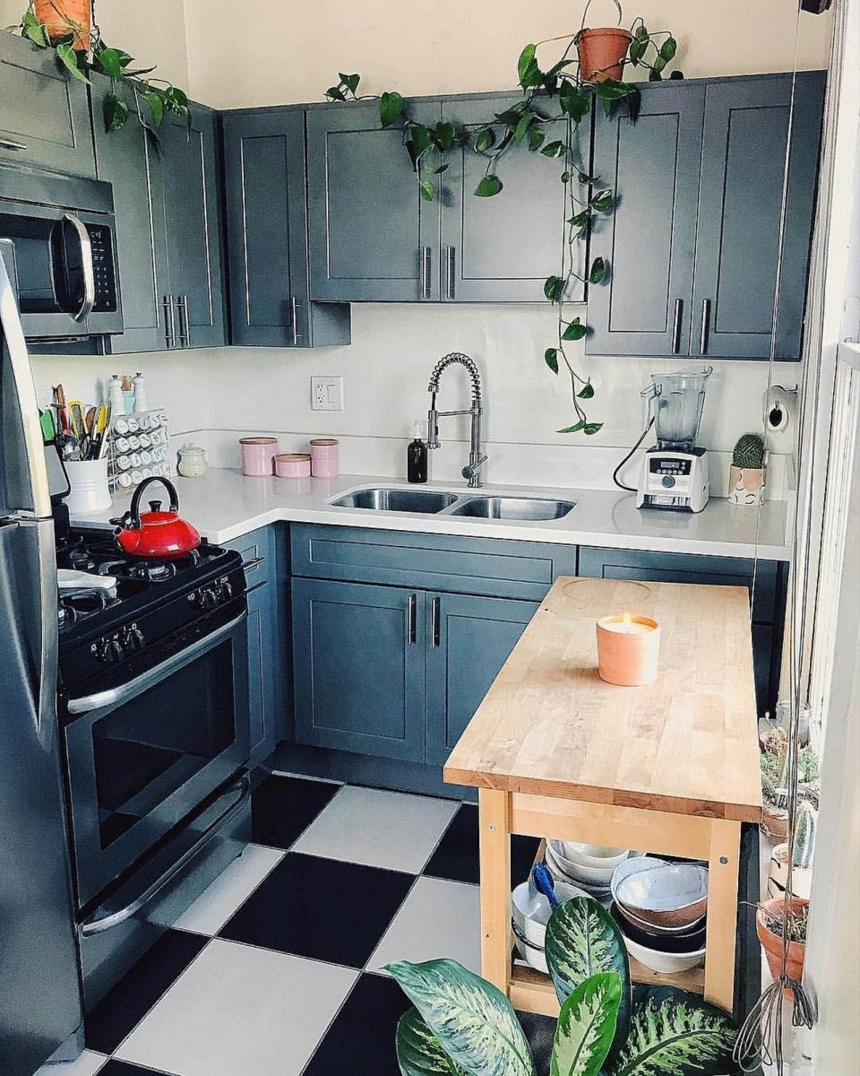 86 Some Small Kitchen Ideas To Help You Do Up Your Kitchen 72