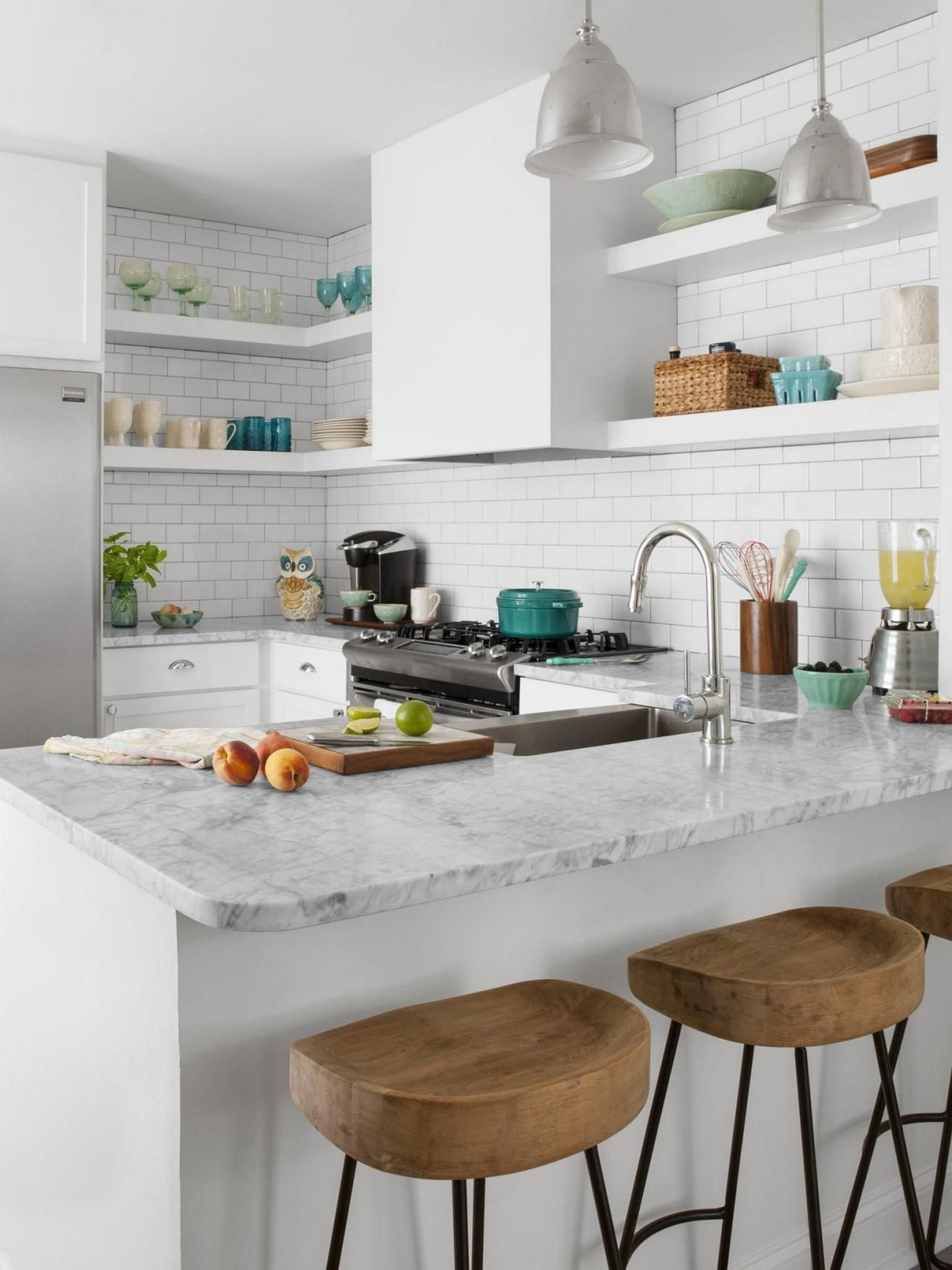 86 Some Small Kitchen Ideas To Help You Do Up Your Kitchen 75