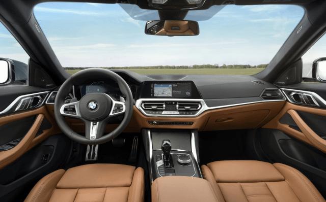 2022 BMW 4 Series Convertible Interior