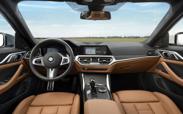 2022 BMW 4 Series Manual Transmission Interior