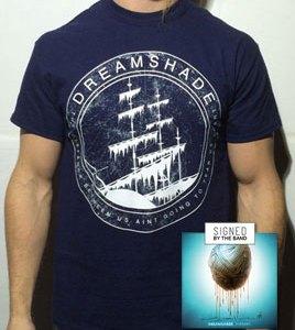 Oceantides T-shirt + Signed Album VIBRANT Bundle