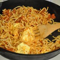 Leftover Spaghetti!