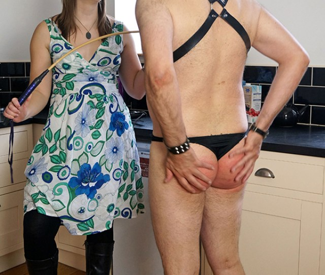 Fierce Femdom Pandora Blake Gives Mike Pain A Hard Strapping And Severe Caning At Dreams Of
