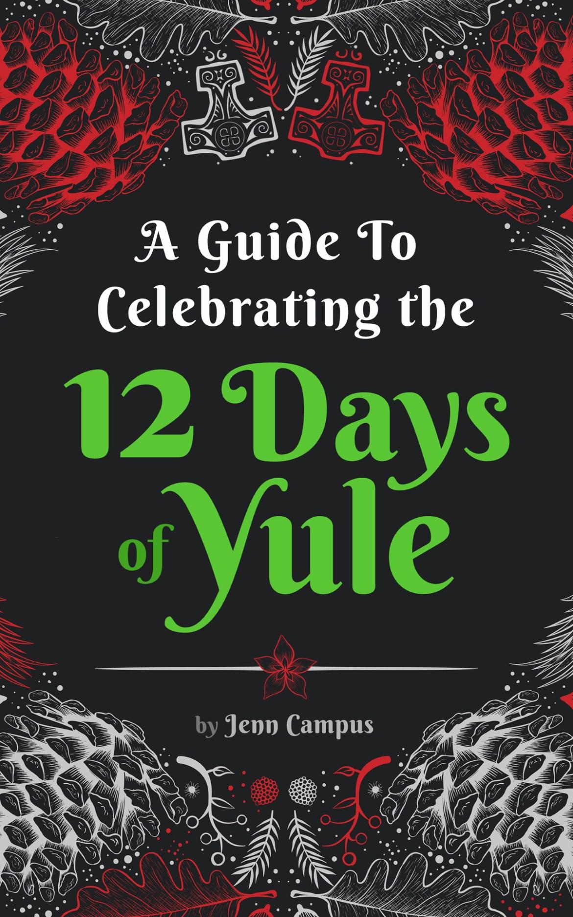 12 Days of Yule - Cover B Social Media