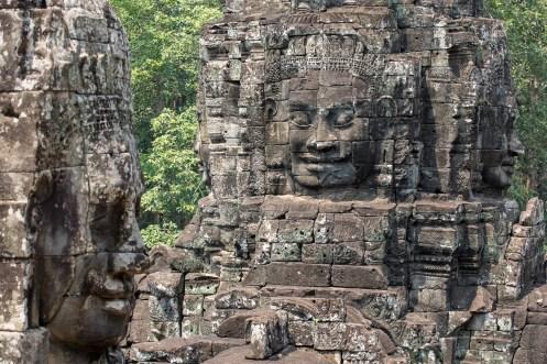 Smiling Buddha Faces