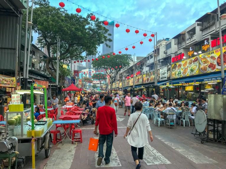 Streetfood Market in Kuala Lumpur