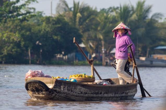 Mekong Market Seller