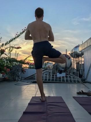 Rooftop Yoga Mo