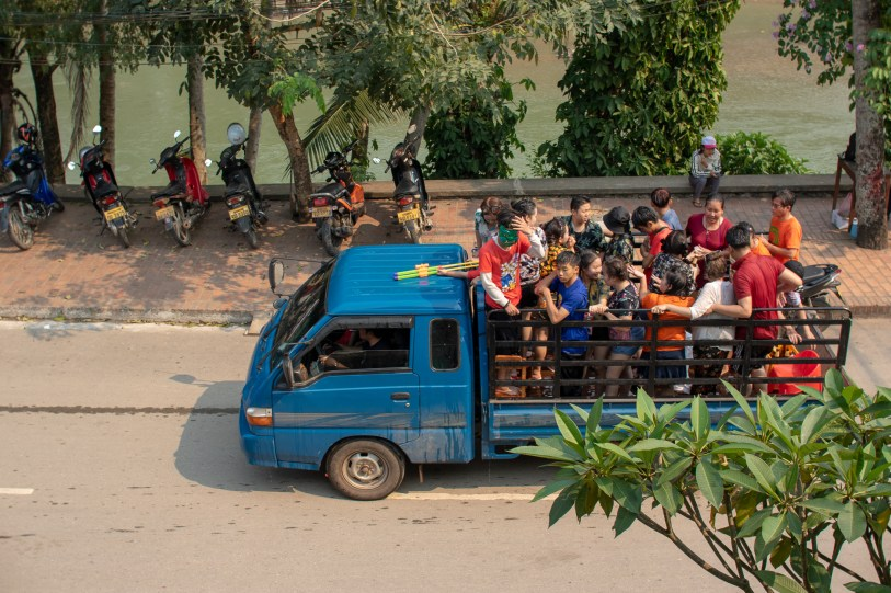The Lao Party Bus