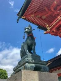 Guardian of the Inari Gates