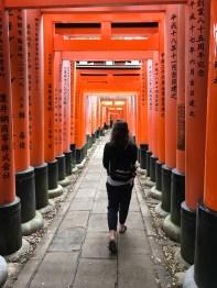 Walking through the Gates of Inari