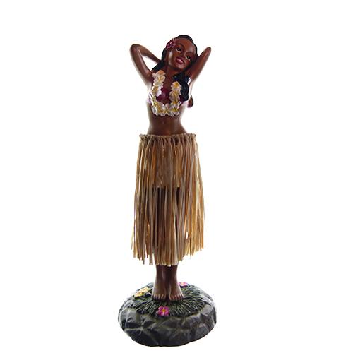 HAWAII POPPETJE Dashboard Hula Girl Pose