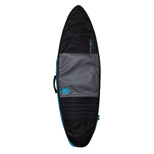 CREATURES OF LEISURE BOARDBAG Retro Fish Day Use Charcoal Cyan 6'0''