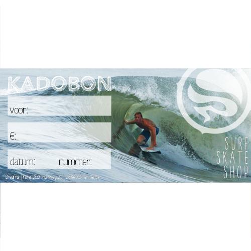 Kadobon Dreamsshop Surfer - 5,00