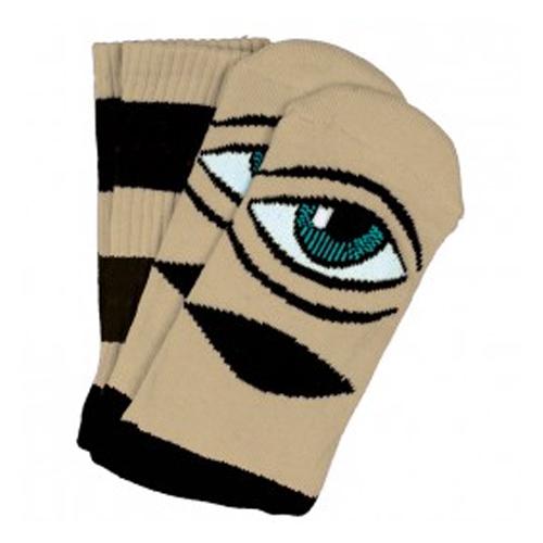Sect Eye Big Stripe Sock Camel OS