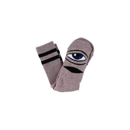 Heather Sect Eye Sock Heather Pink