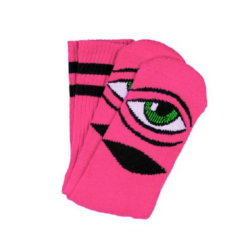 Sect Eye Sock Neon Pink OS