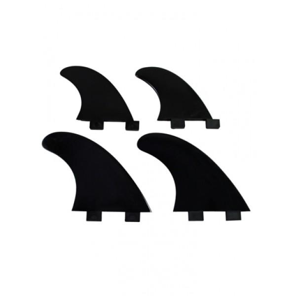 EUROFINS VINNEN Q4 Quad Model Dual Tab Black