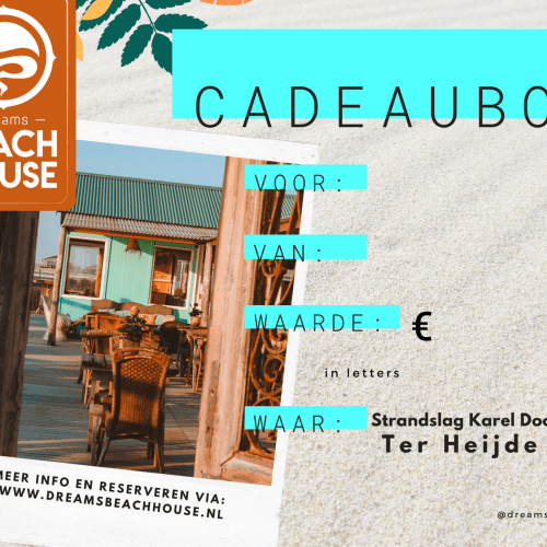 Dreams Beachhouse Kadobon