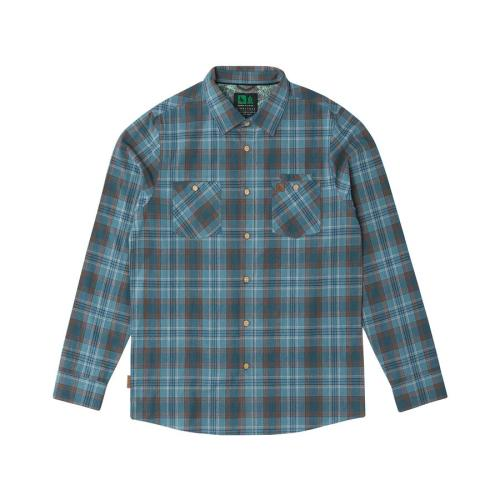 Fairing flannel blue