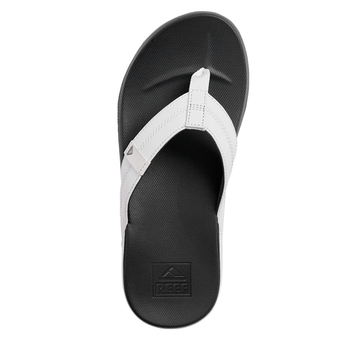 Reef Slippers Cushion Bounce Phantom White Charcoal
