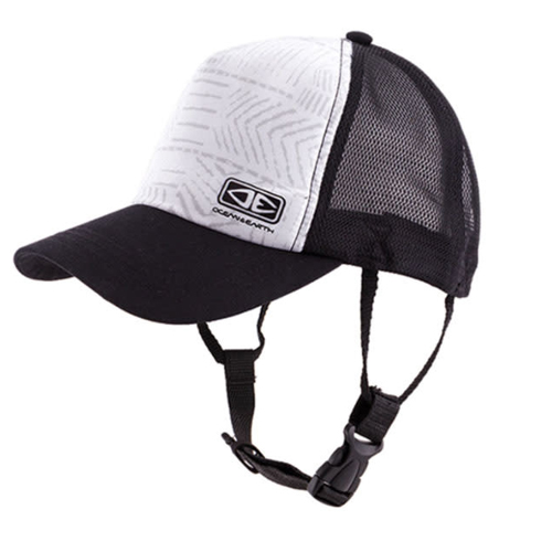 Ocean & Earth Deserts Mesh Trucker Surf Cap White