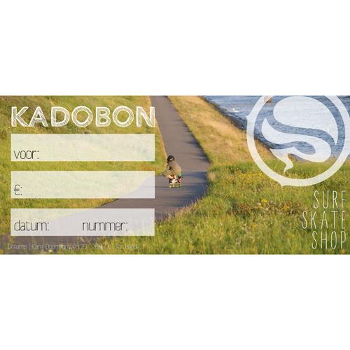 Kadobon Dreamsshop longboarder - 5,00