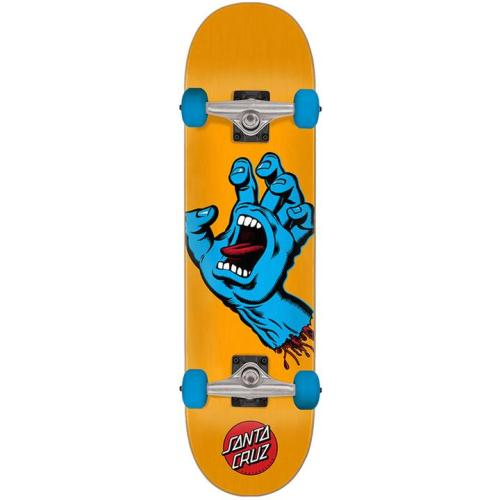 Santa Cruz Screaming Hand Orange Blue Complete