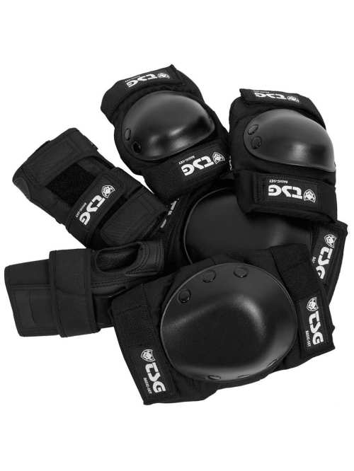 TSG Basic Black Protection Set Medium