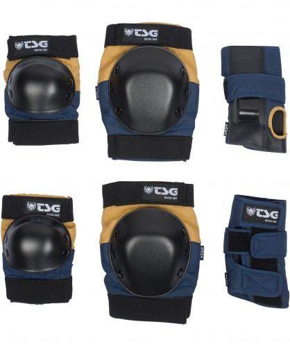 TSG Basic Blue/Yellow Protection Set Small