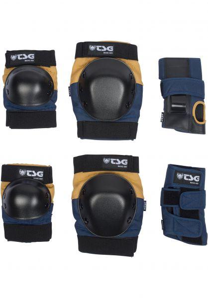 TSG Basic Blue/Yellow Protection Set Medium