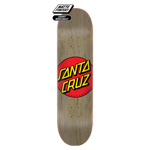 Decks Santa cruz classic FA20 Brown