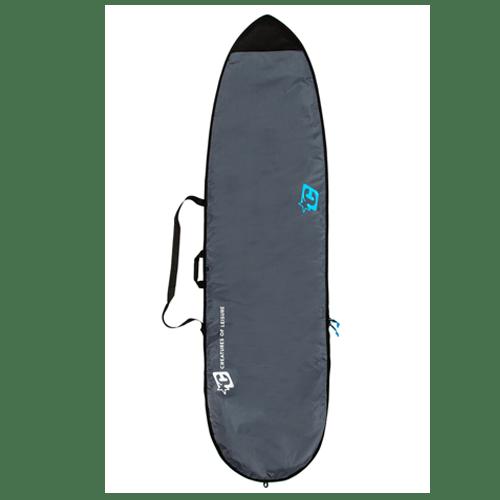 Boardbag Longboard Lite Charcoal Cyan 9'0''