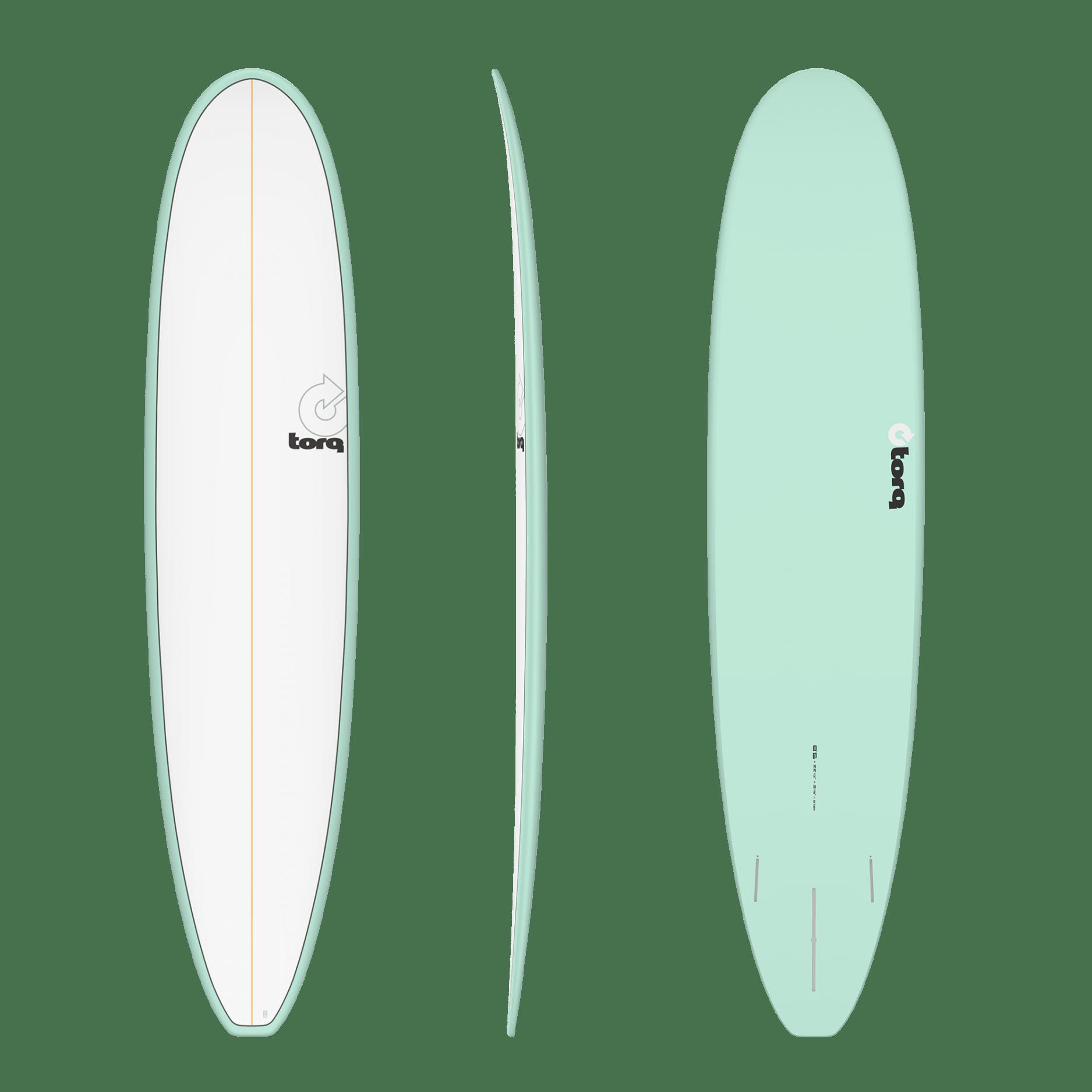 Torq Longboard Seagreen White 8'6