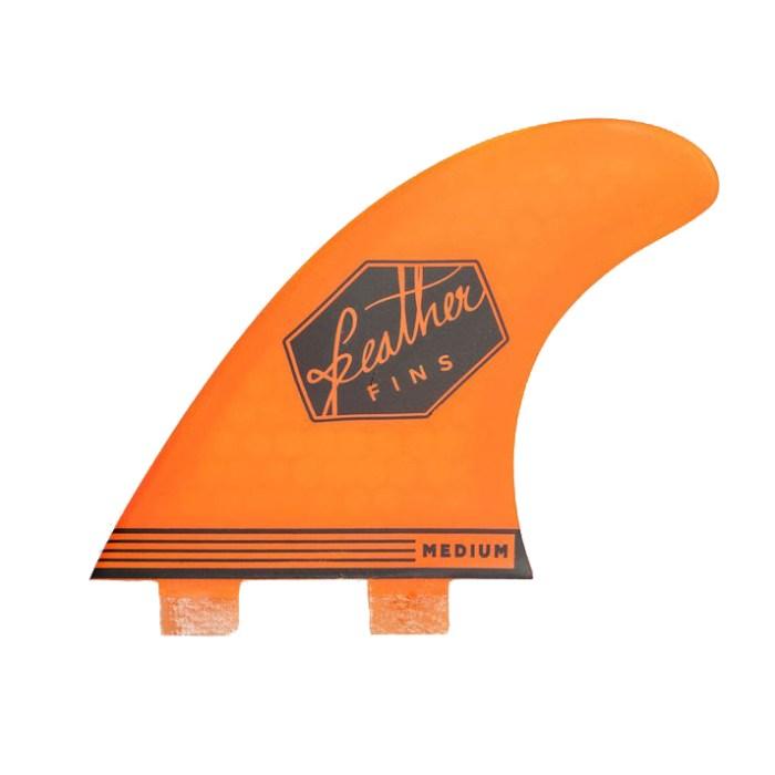 Feather Fins Ultralight Dual Tab Orange Small - S