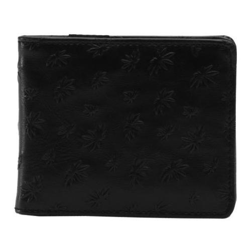 VANS PORTEMONNEE Peace Leaf Wallet Black