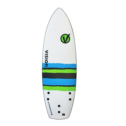 VISION SURFBOARD Softtop Foaminator 5'10''