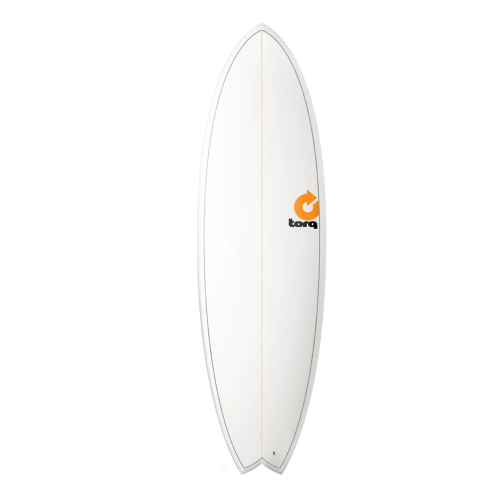 Torq Fish 6'10'' Pinline White