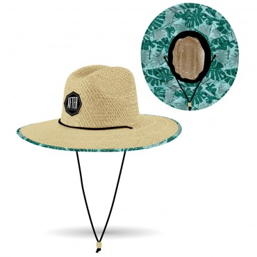 After Straw Hat Big Leaves Small Medium
