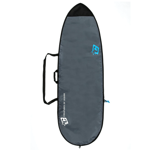 Boardbag Fish Lite Charcoal Cyan 7'1''