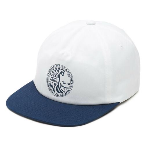 Vans x spitfire cap white blue