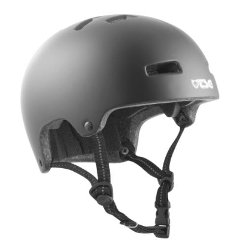 TSG Helmet Nipper Solid Color Mini Kids Satin Black