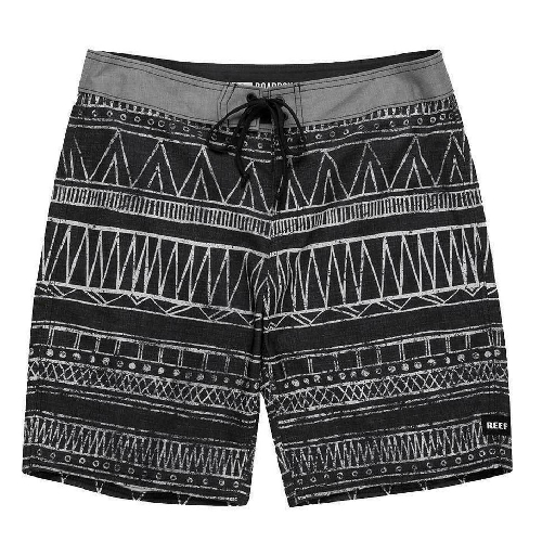 Reef Tribe Black Boardshorts