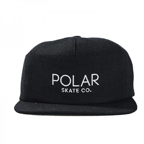 Polar Cap Black Embroidrey