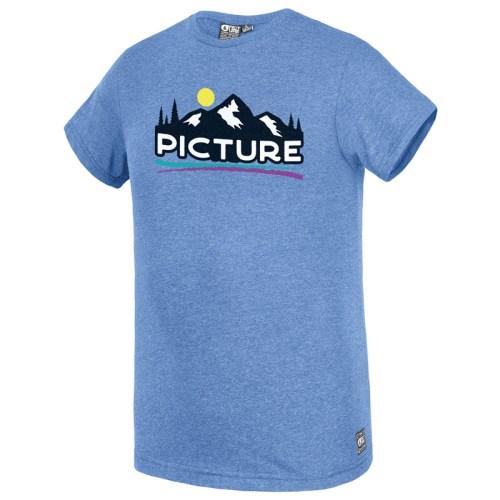 Picture Traffer Tee Blue Melange