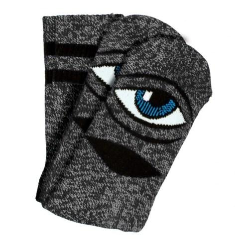 Toy Machine Sect Eye Socks Heather Grey