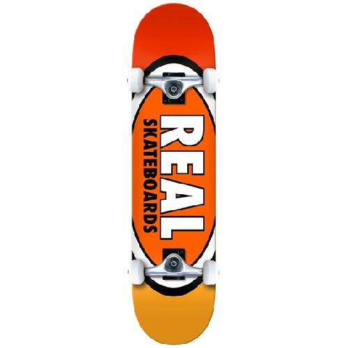 Real Team Edition Oval MD Complete Skateboard 7.75